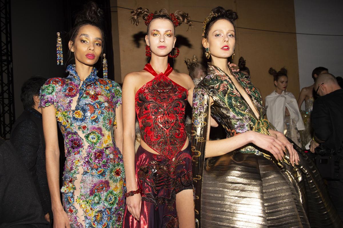 Guo Pei SS/19 at Paris Haute Couture