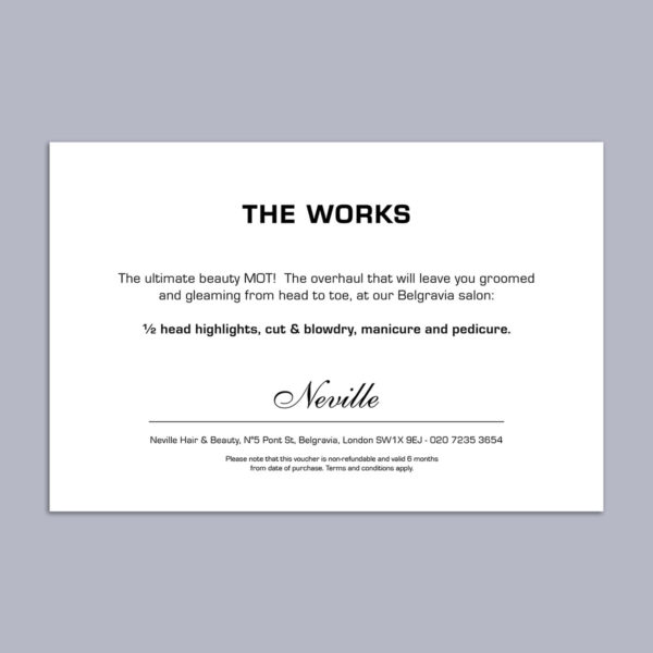 The Works Voucher