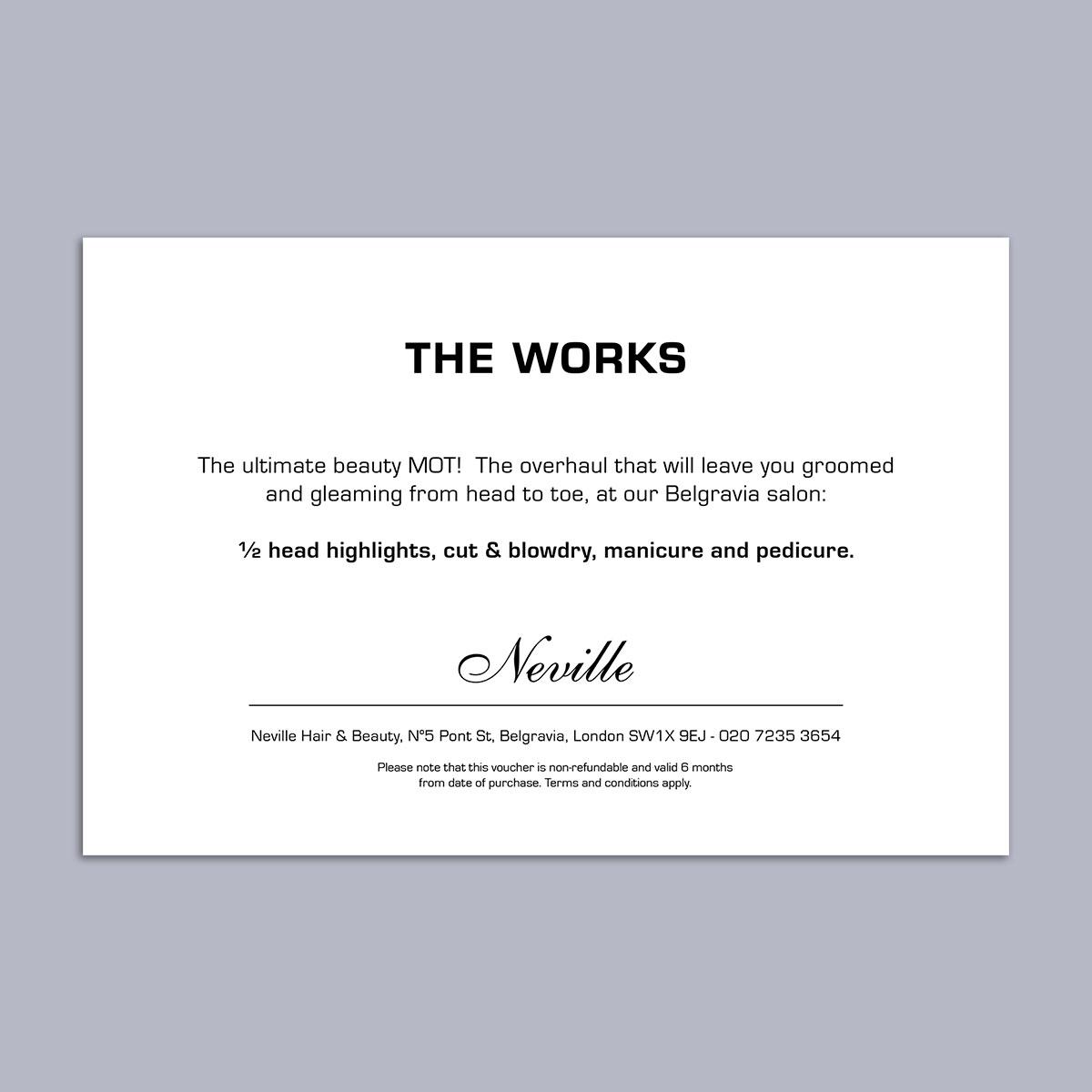 The Works Voucher