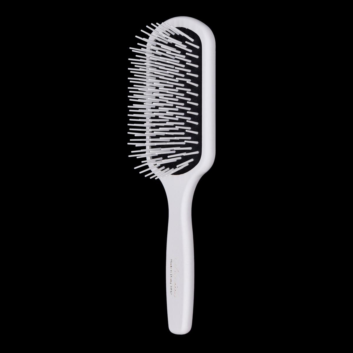 Neville Non Bristle Paddle Brush in White