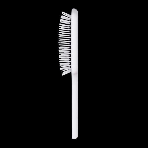 Neville Non Bristle Paddle Brush in White