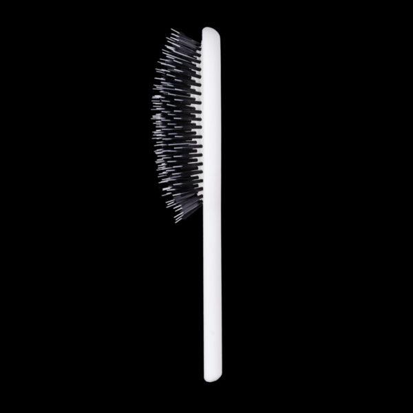 Neville Bristle Hair Brush in White