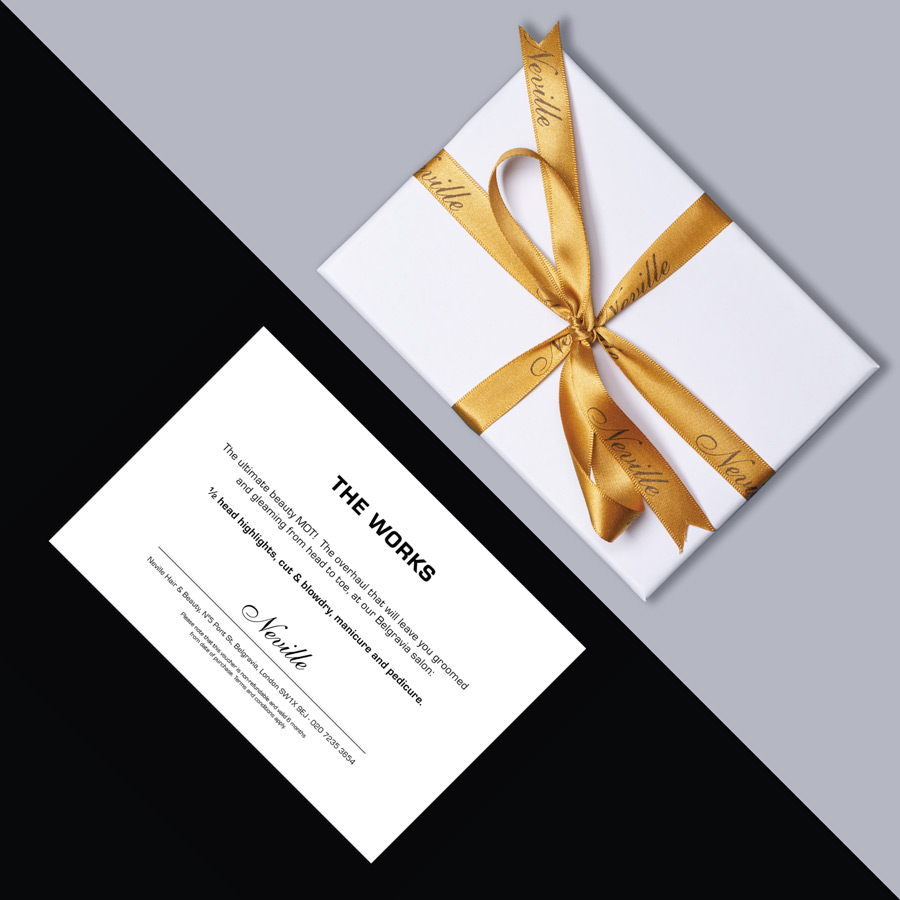 Browse Neville Gift Vouchers