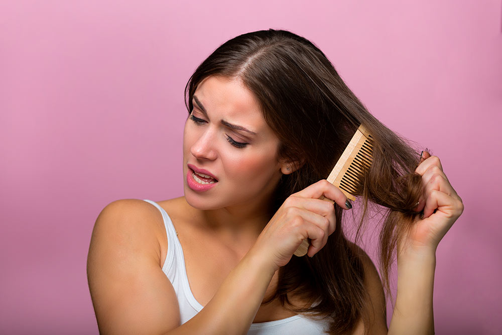 How to repair and fix damaged hair from home