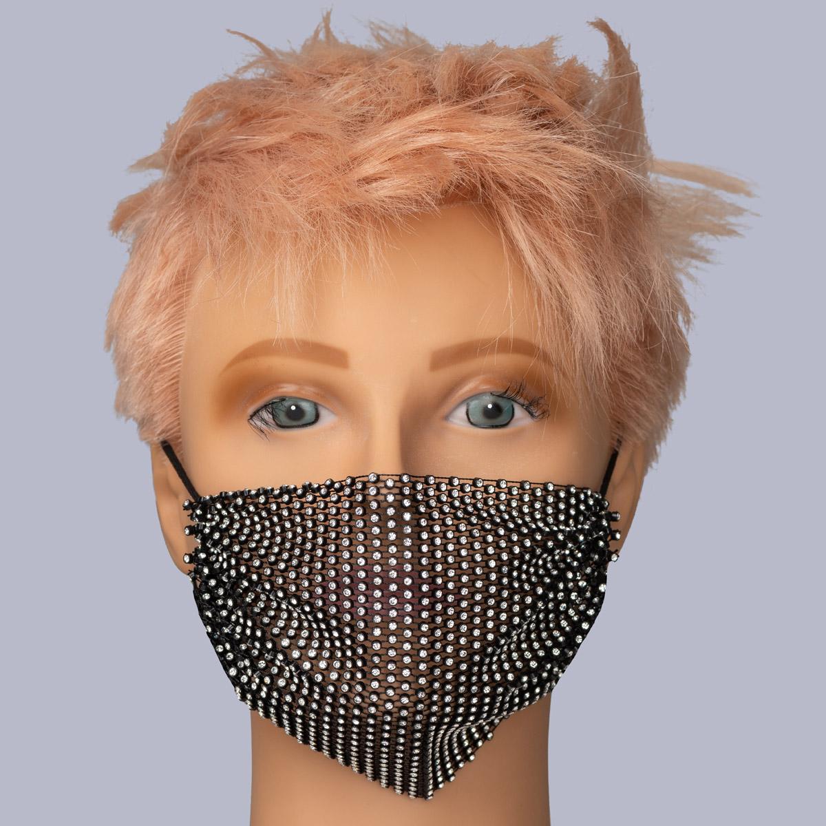 Neville Diamanté Face Mask