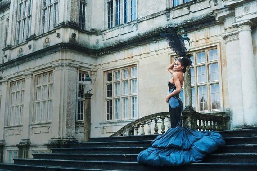 Emma Weymouth for Tatler Cover shoot January 2021
