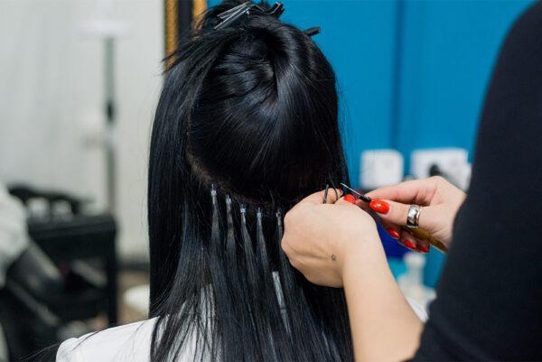 Hair extensions during Lockdown