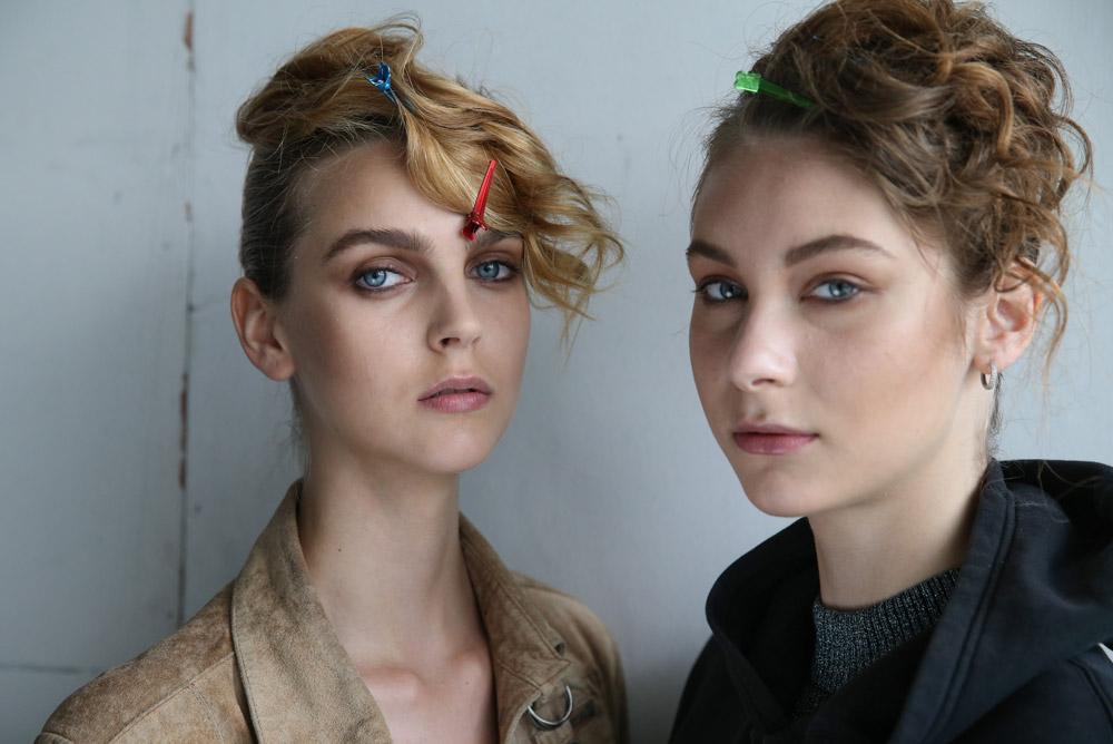 Neville Salon create the hair Look for Songzio SS17