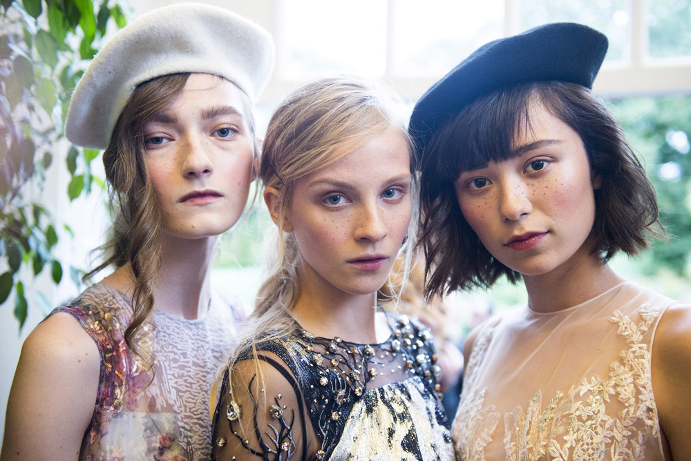 Neville Salon create the hair Look for Couturissimo SS18