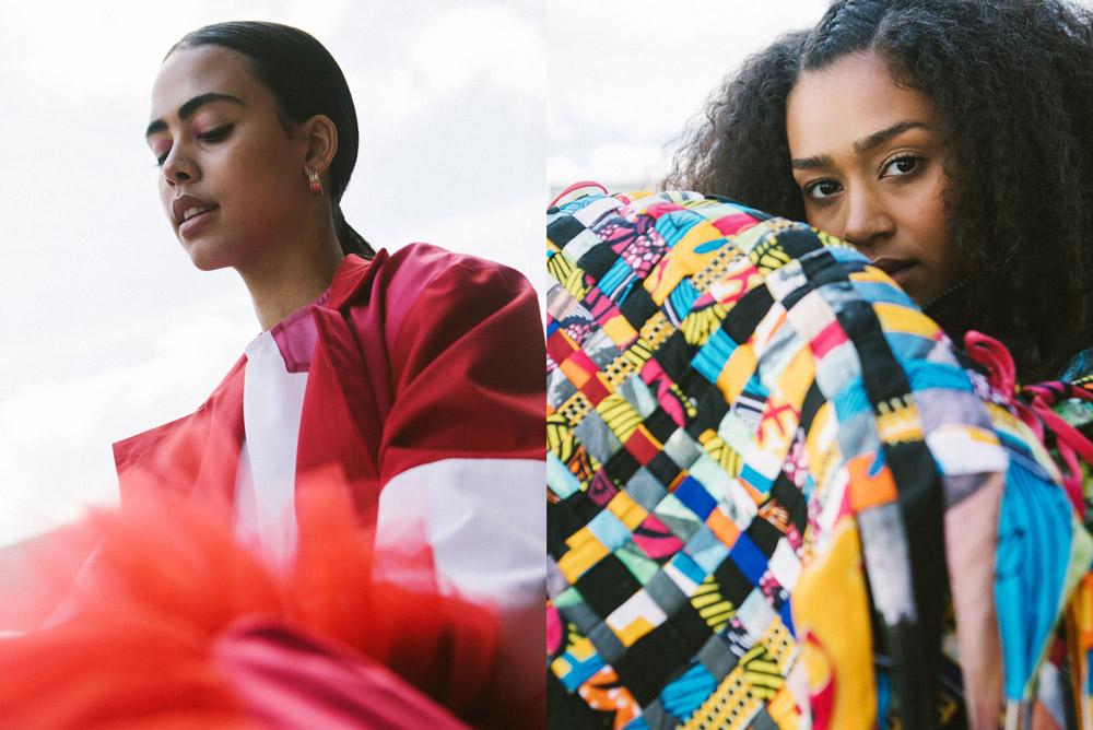 Neville London Graduate Fashion Week Using L'Oreal Professionnel