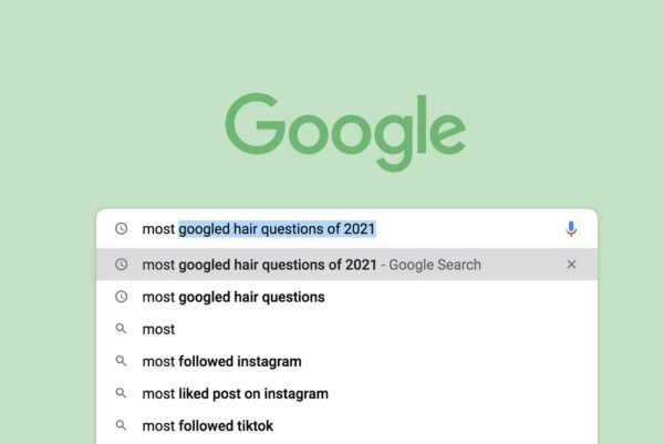 Google's most frequently asked hair questions answered